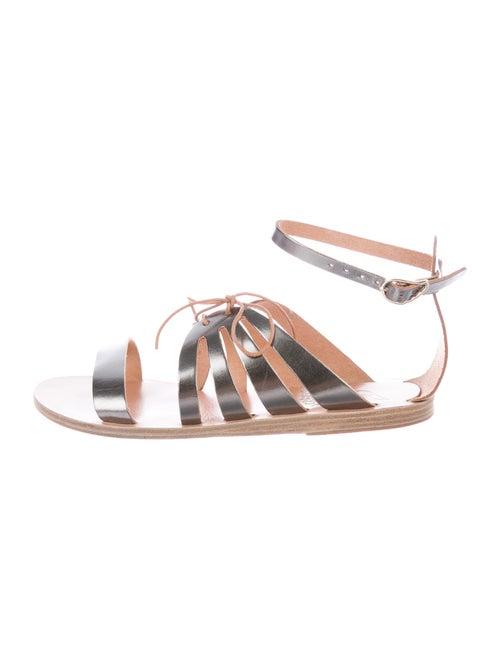 Ancient Greek Sandals Leather Gladiator Sandals Me