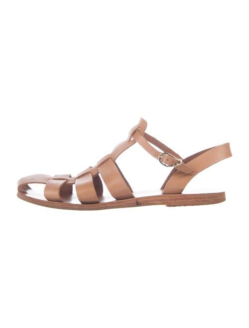 Ancient Greek Sandals Leather Gladiator Sandals Br