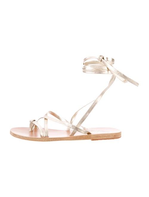 Ancient Greek Sandals Leather Gladiator Sandals Go