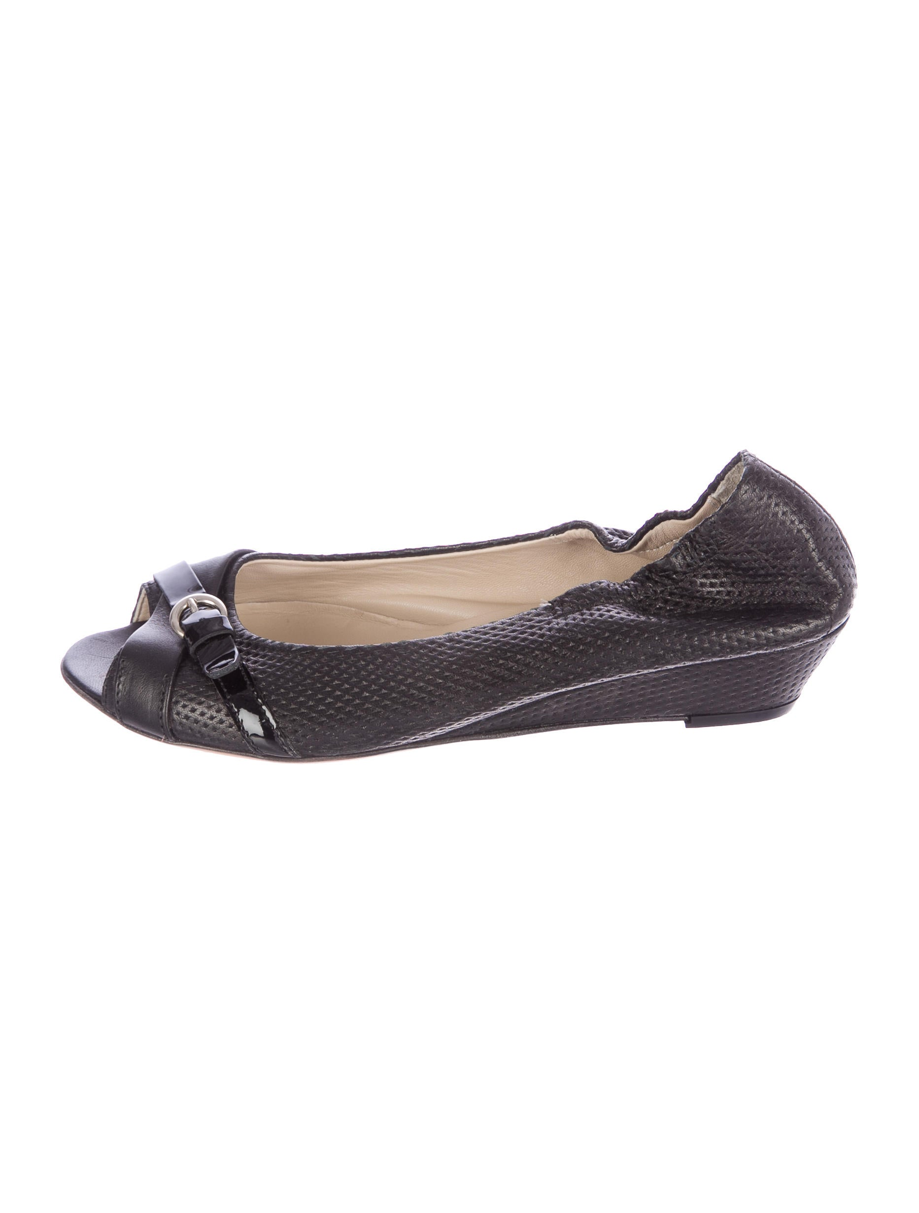 agl perforated peep toe wedges shoes wagle20063 the