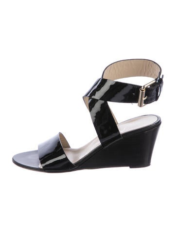 agl patent leather wedge sandals shoes wagle20163