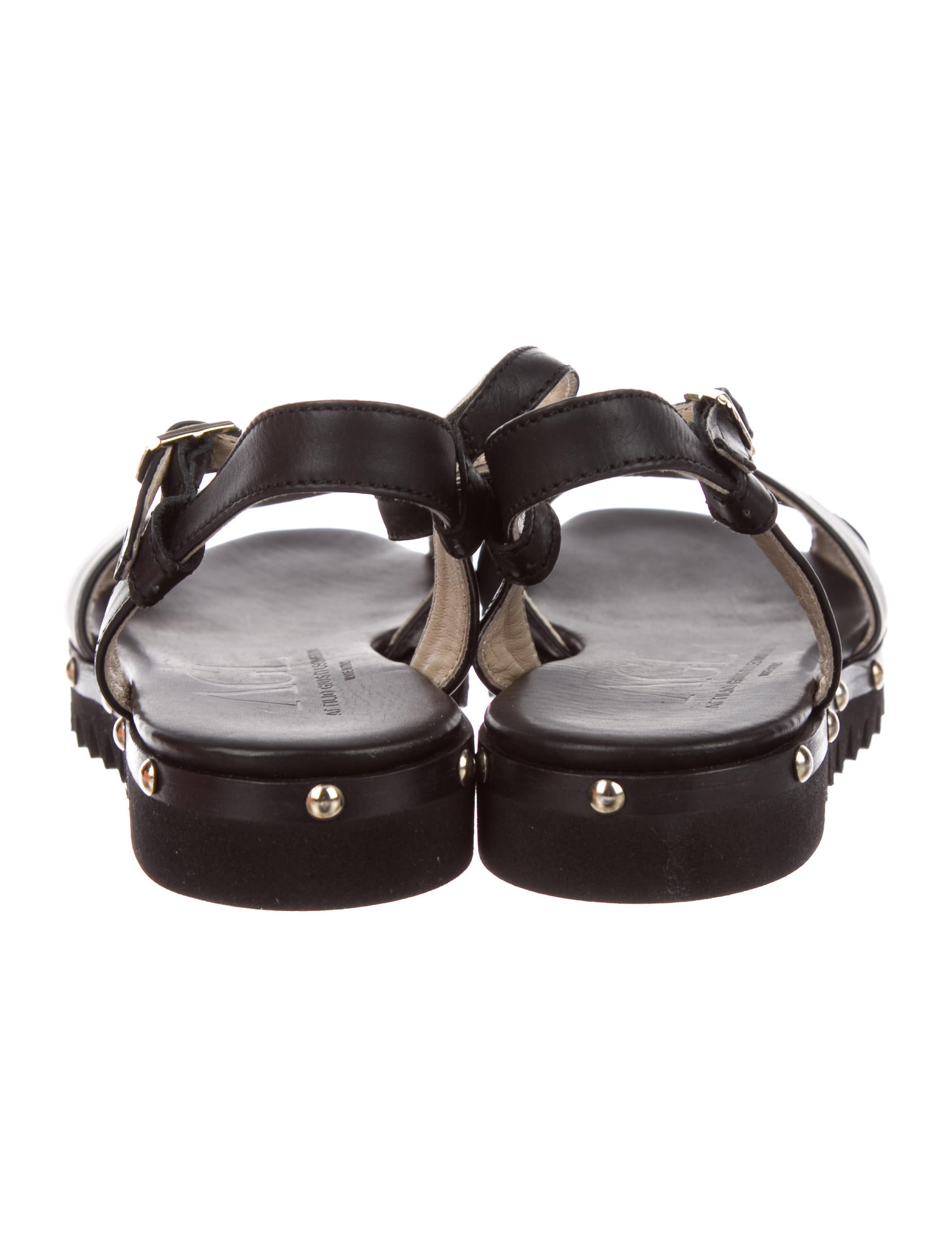 excellent online AGL Poeta Leather Sandals w/ Tags outlet limited edition cheap popular 21BSzZCpi