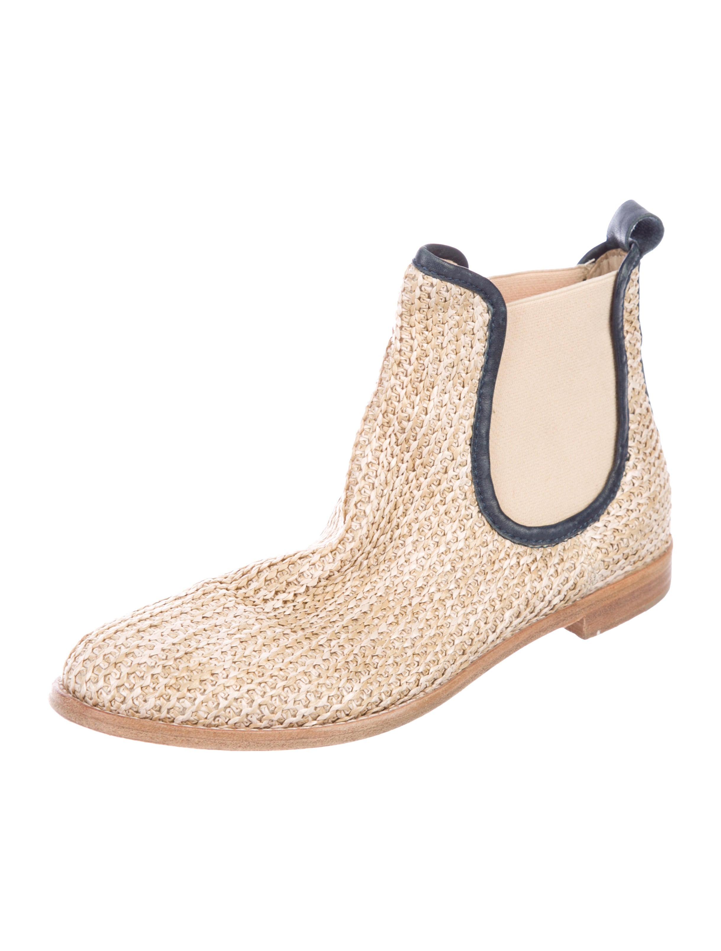 buy cheap with paypal get to buy cheap price AGL Straw Chelsea Booties buy cheap browse cDfofl