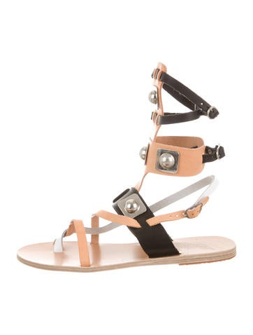 Gladiator Leather Sandals w/ Tags