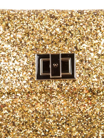 Valorie Glitter Clutch w/ Tags