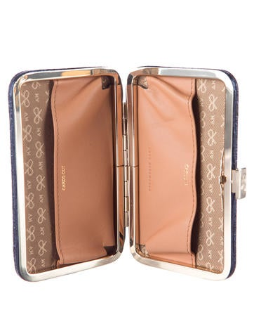 Quilted Mini Marano Card Case Clutch