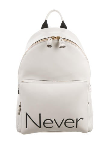 Leather Never Backpack