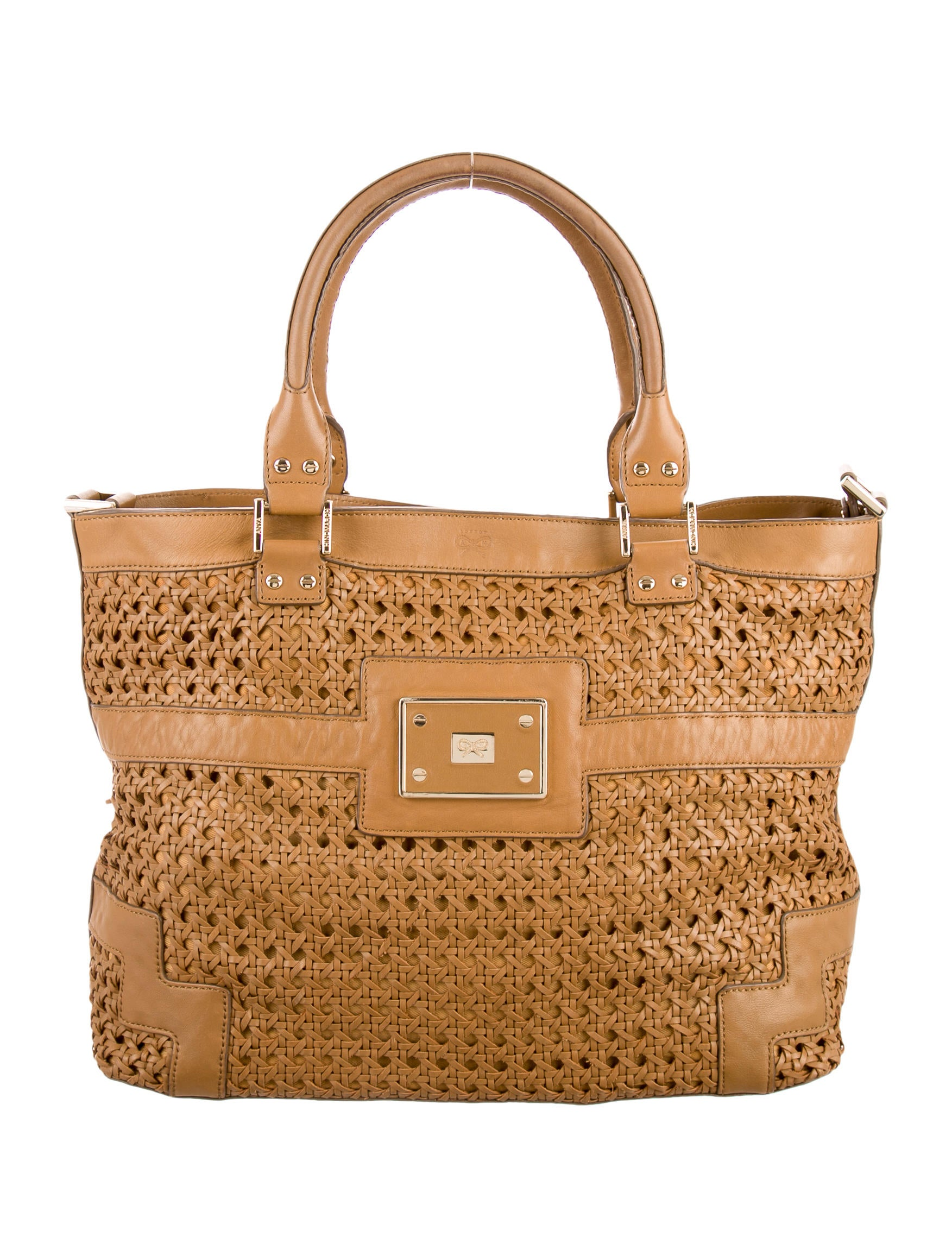 Anya Hindmarch Woven Leather Bag Handbags Wah22190