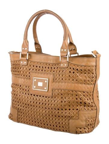 Anya Hindmarch Woven Leather Bag Handbags Wah22190