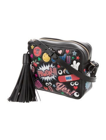 All Over Stickers Crossbody Bag
