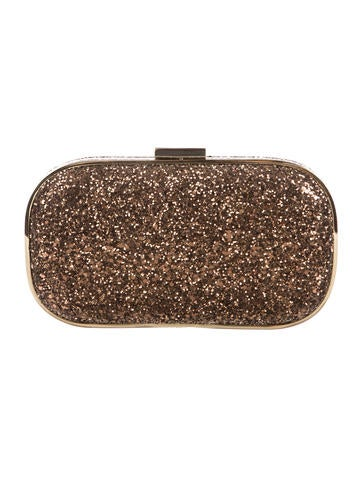 Anya Hindmarch Marano Glitter Box Clutch