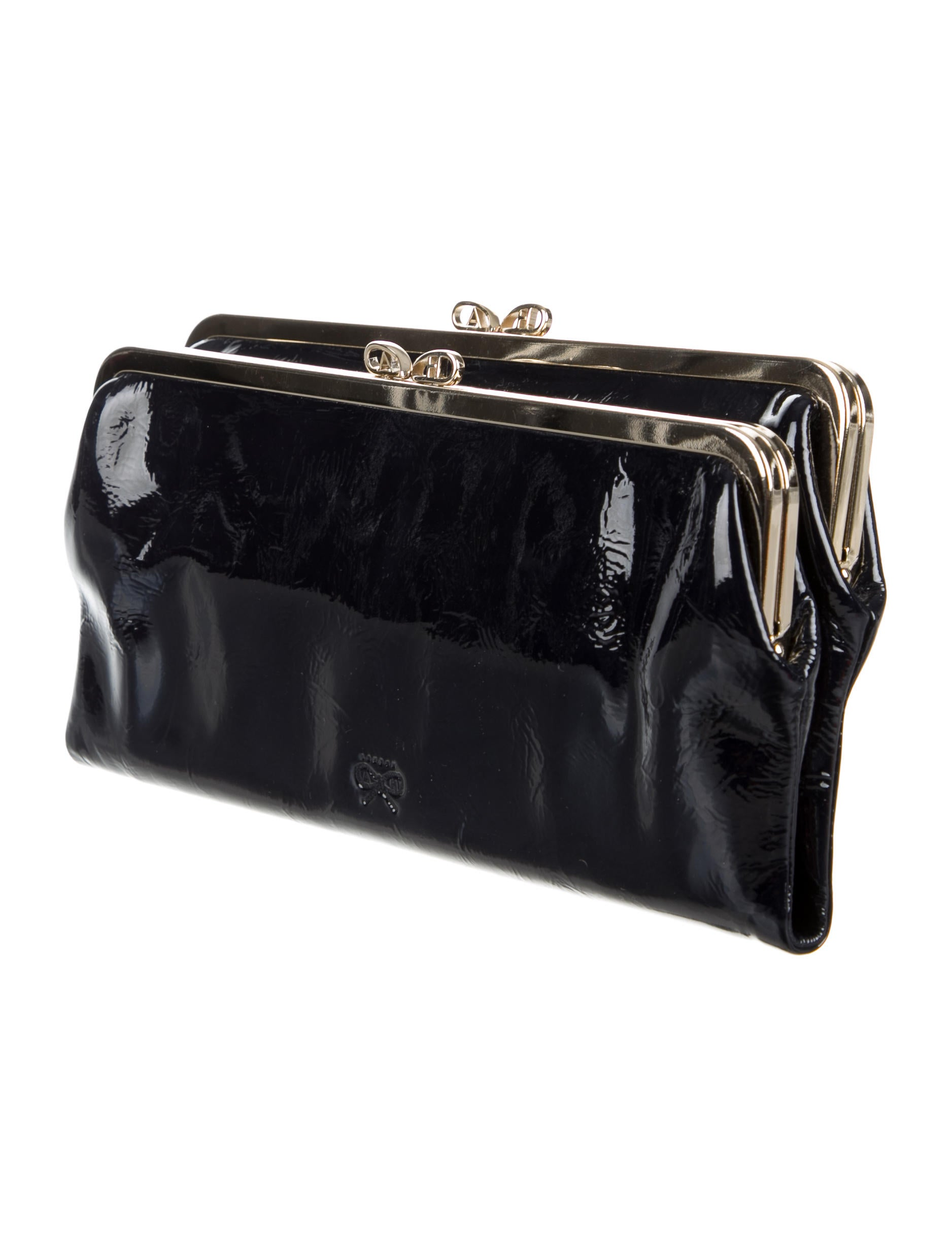 Anya Hindmarch Patent Luce Clutch - Handbags