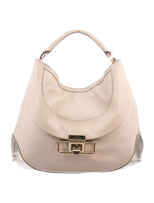 Anya Hindmarch Leather Tote Gold