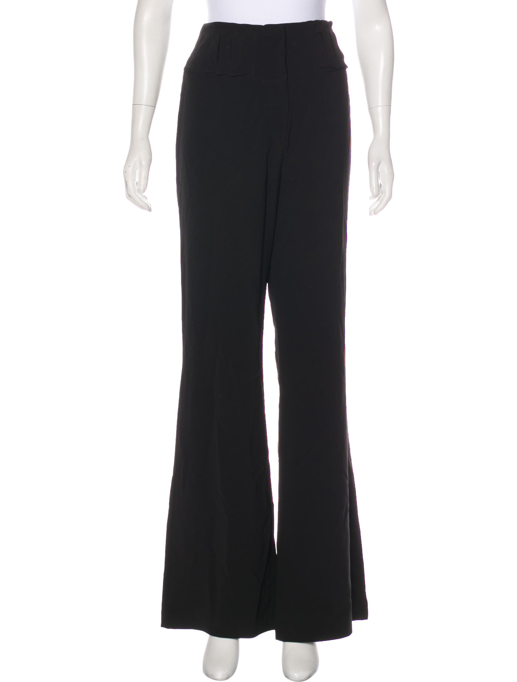 Alberto Makali High-Rise Flared Pants Cheap With Mastercard 2RdrW9A