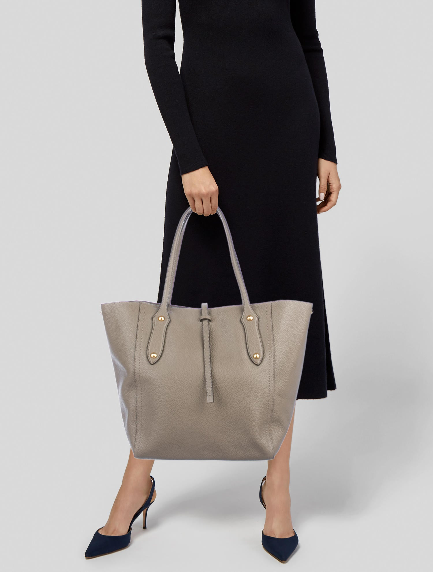 989a8c7dd7 Grained Leather Bibi Annabel Tote Ingall Tags w Tw8Eqz1E in heaven ...