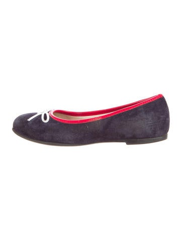 Armani Junior Girls' Suede Flats None