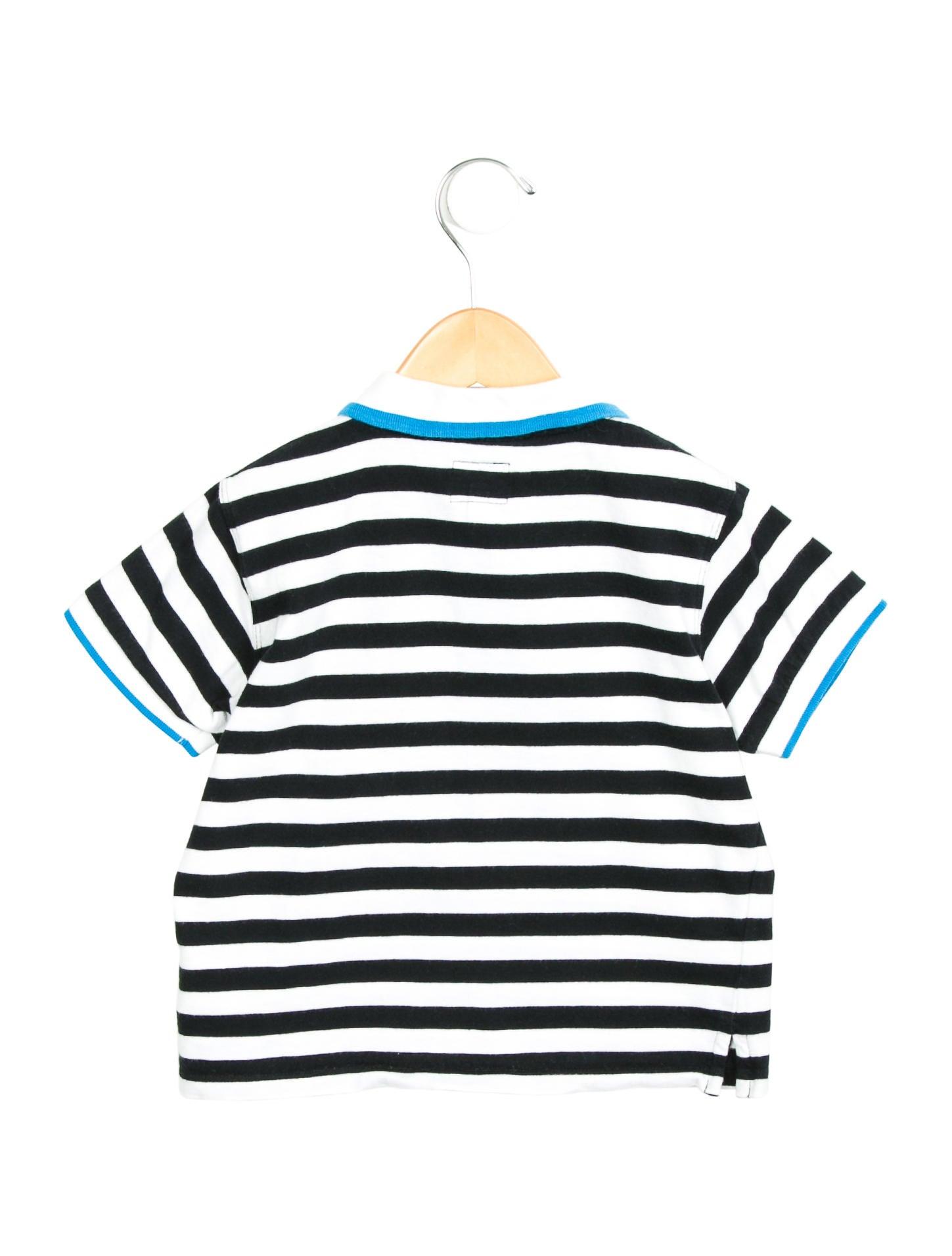 Armani junior boys 39 striped polo shirt boys wajun20373 for Boys striped polo shirts