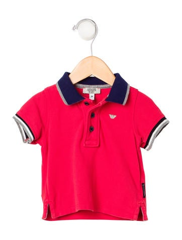 Armani Junior Boys' Short Sleeve Polo Shirt None