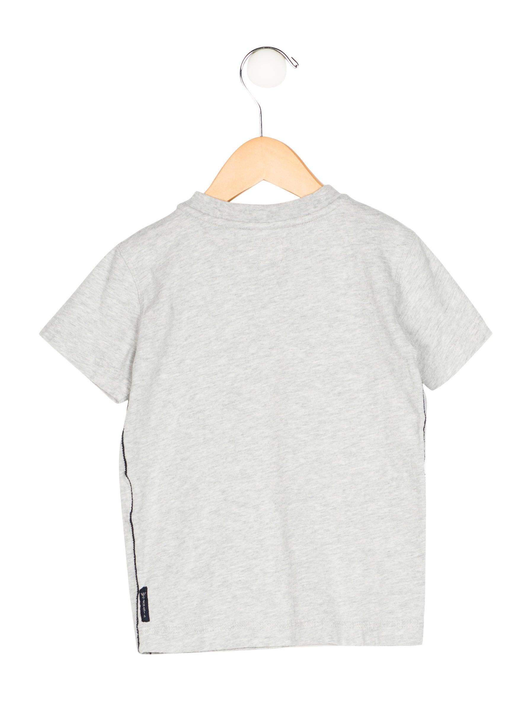 Armani Junior Boys 39 Logo Short Sleeve Shirt Boys
