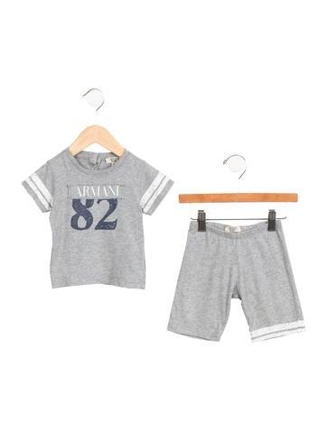 Armani Junior Boys' Logo Short Set None