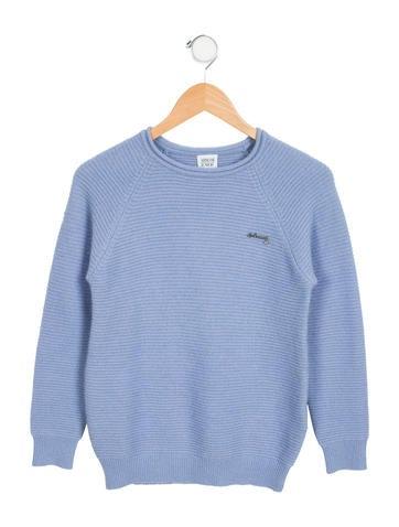 Armani Junior Girls' Wool & Angora-Blend Sweater None