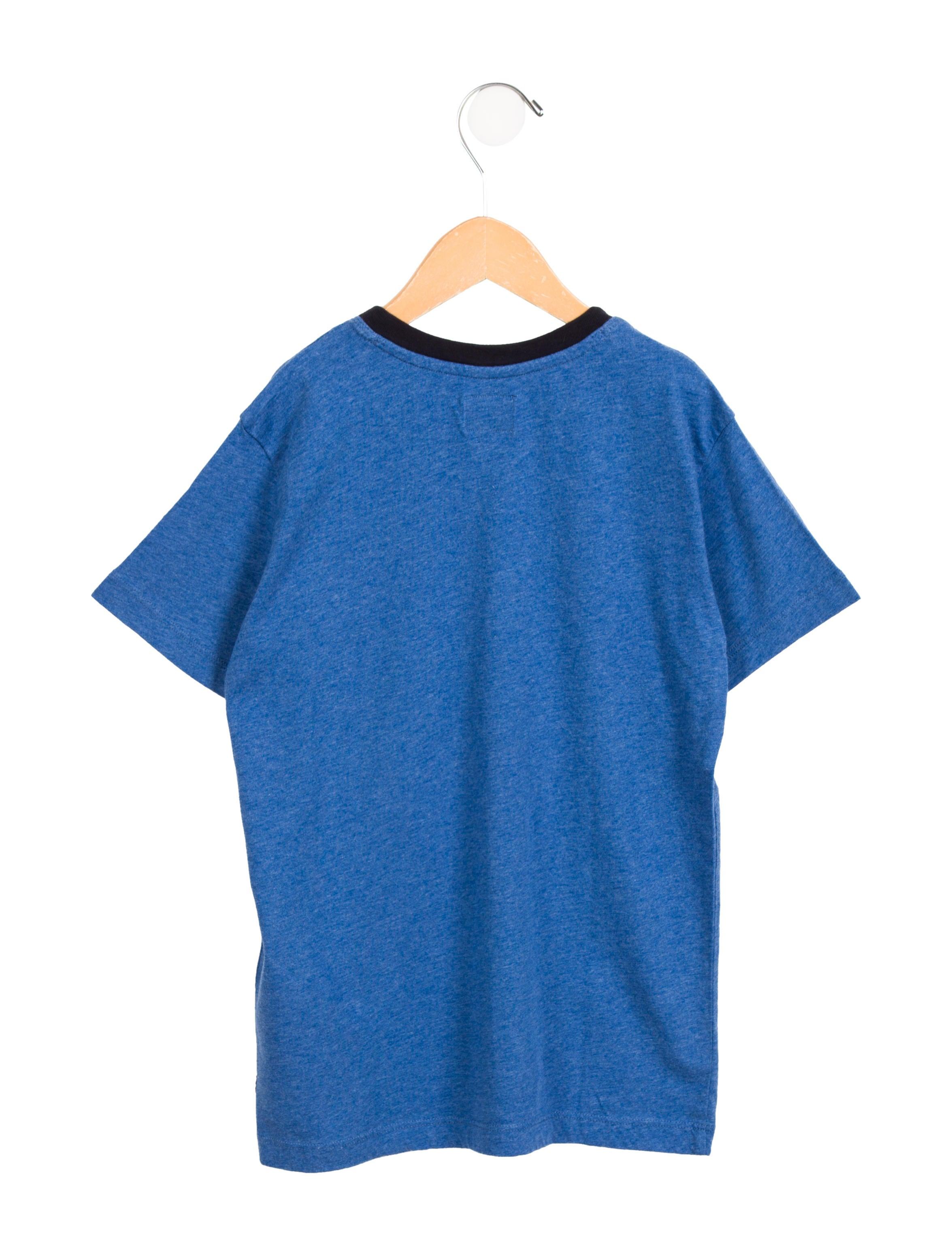 Armani junior boys 39 printed short sleeve t shirt boys for Boys printed t shirts