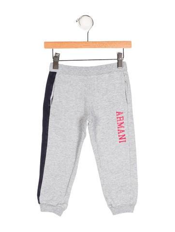 Armani Junior Boys' Logo Sweatpants None