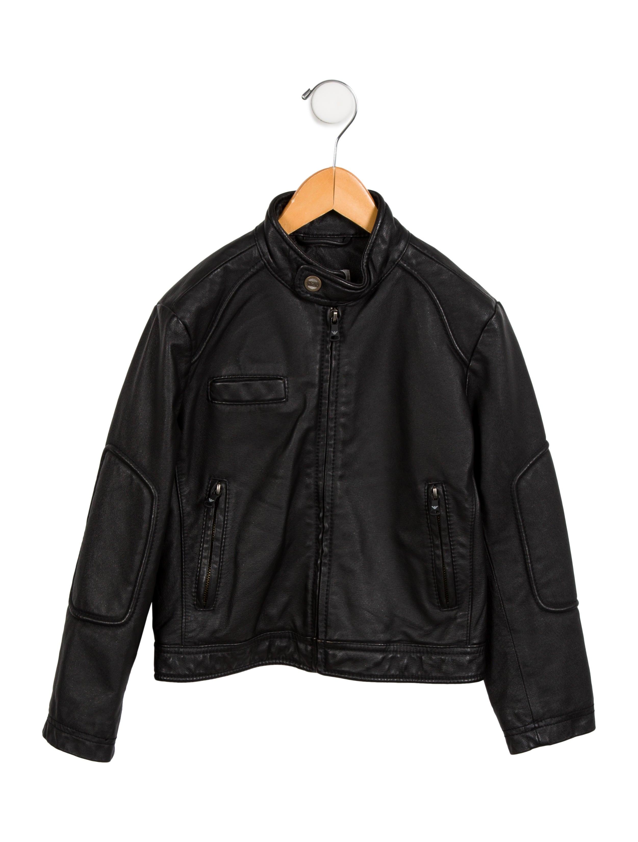 Junior leather jacket