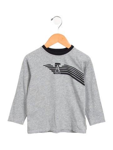 Armani Junior Boys' Logo Graphic Shirt None