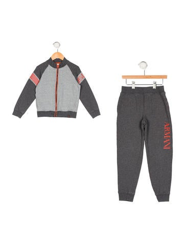 Armani Junior Boys' Two-Piece Track Suit None