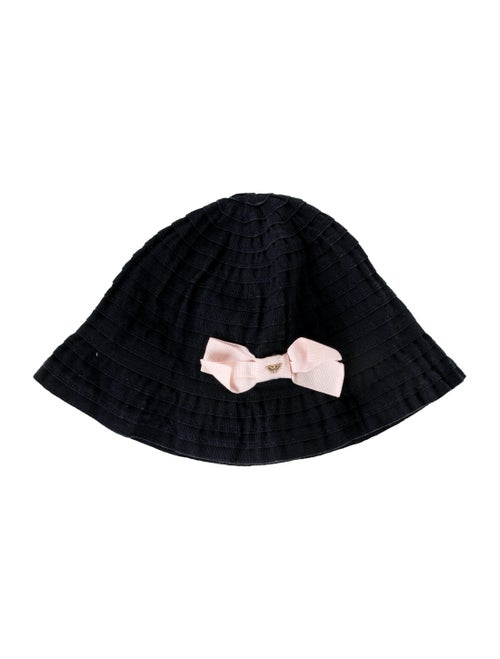 ce8707c2 Armani Junior Girls' Bow-Accented Bucket Hat - Girls - WAJUN22053 ...