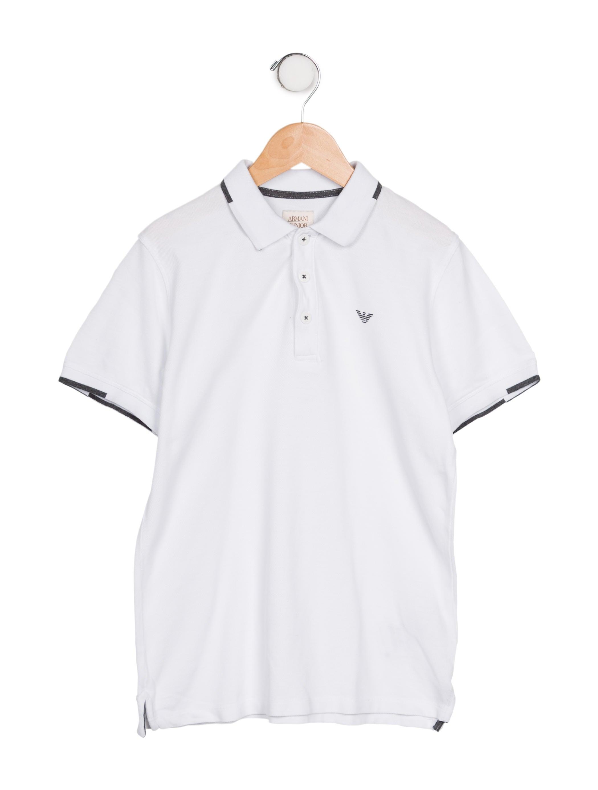 b0baf1821 Armani Junior Boys' Logo Polo Shirt - Boys - WAJUN22471 | The RealReal