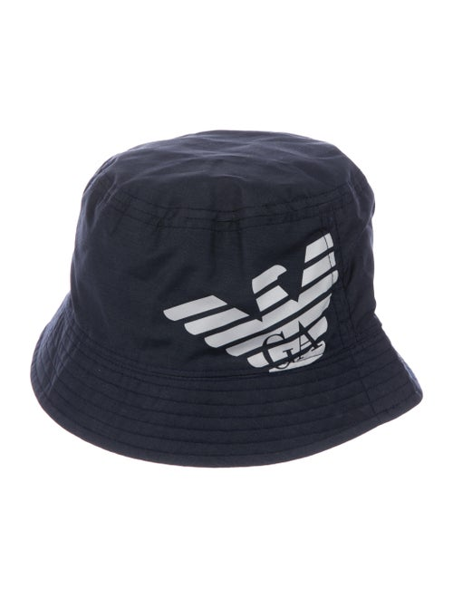 fc5e9def Armani Junior Boys' Logo Printed Bucket Hat w/ Tags - Boys ...