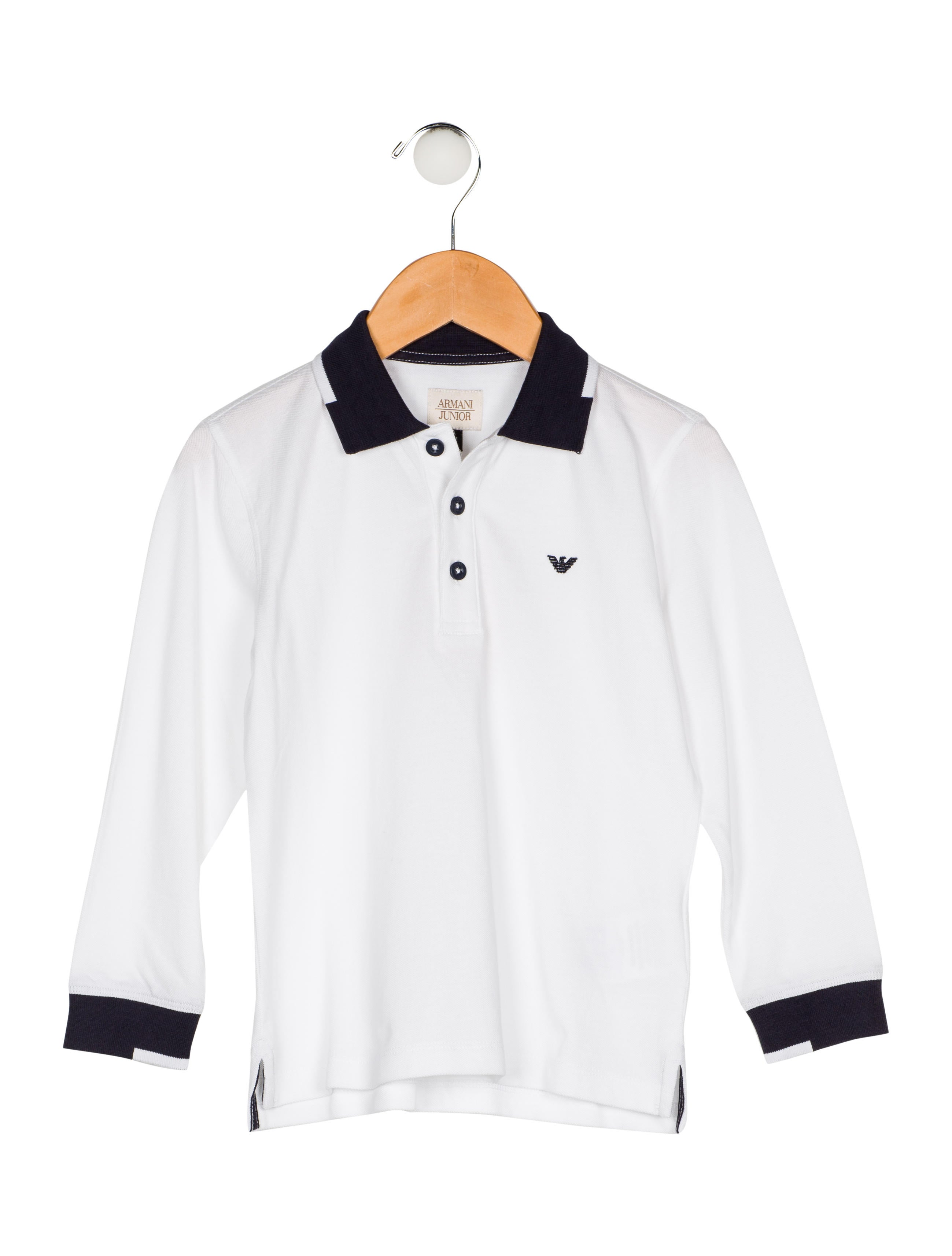 f1696f3ec Armani Junior Boys' Collared Shirt w/ Tags - Boys - WAJUN22668 | The ...