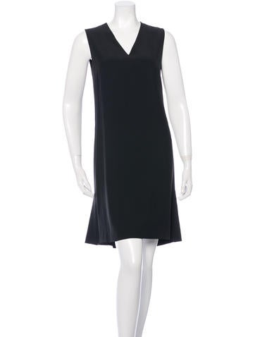 Akris Punto Sleeveless Shift Dress None