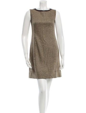 Akris Punto Wool Sleeveless Dress None