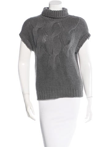 Akris Punto Wool Cable Knit Sweater None