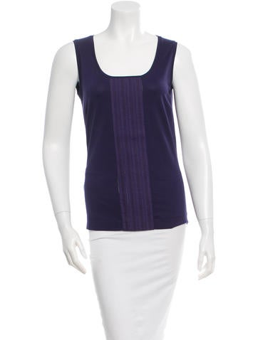Akris Punto Sleeveless Top None