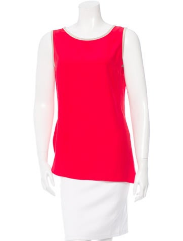 Akris Punto Silk Sleeveless Top w/ Tags None