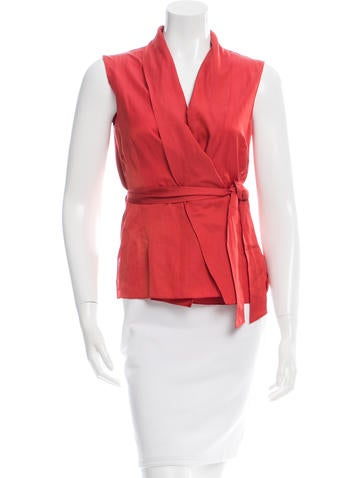 Akris Punto Sleeveless Wrap Top w/ Tags None