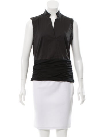 Akris Punto Ruched Sleeveless Top w/ Tags None
