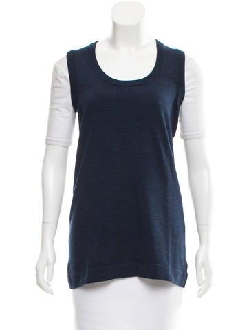 Akris Punto Wool Sweater Vest None
