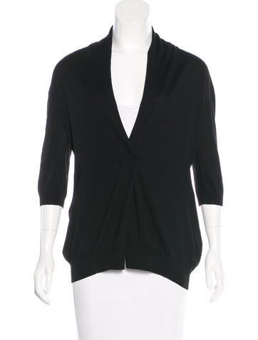Akris Punto Wool Double-Breasted Cardigan None