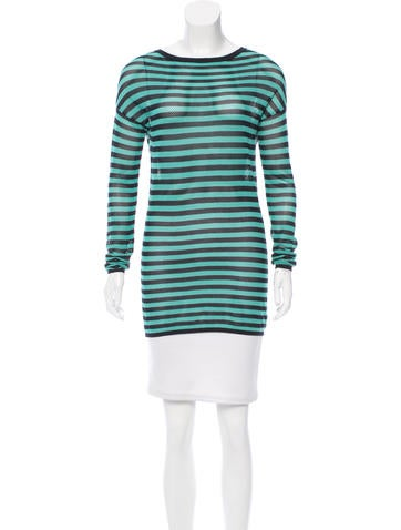 Akris Punto Striped Knit Top w/ Tags None