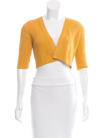 Akris Punto Rib Knit Shrug w/ Tags None