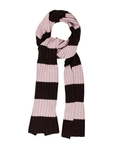 Akris Punto Cashmere & Wool-Blend Striped Scarf None