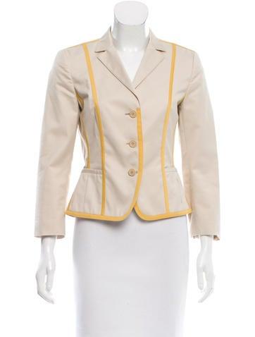 Akris Punto Lightweight Paneled Jacket None