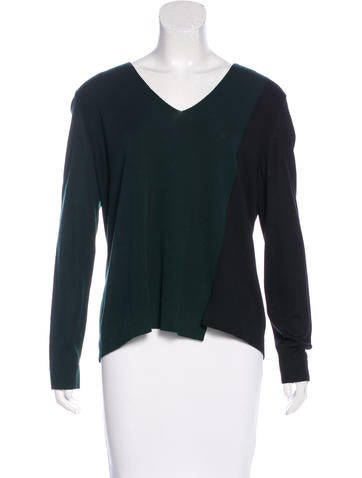 Akris Punto Colorblock Knit Sweater None