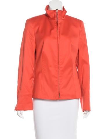 Akris Punto Lightweight Zip-Up Jacket None