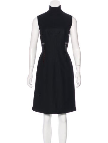 Akris Punto Wool-Blend Sleeveless Dress None